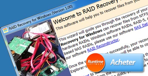 RAID Recovery for Windows